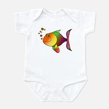 Tropical fish Infant Bodysuit