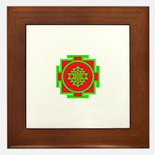 Cool Sri yantra Framed Tile