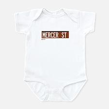 Mercer Street in NY Infant Bodysuit