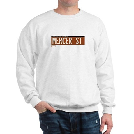 Mercer Street in NY Sweatshirt