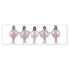 Baby Ballerinas Bumper Bumper Sticker