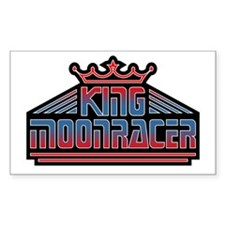King Moonracer Rectangle Decal