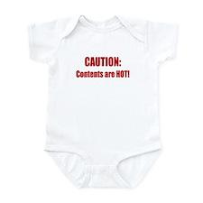 Caution: Contents HOT! Infant Bodysuit
