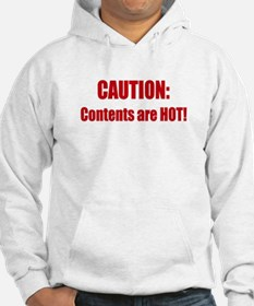 Caution: Contents HOT! Hoodie