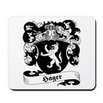 Hager Family Crest Mousepad