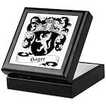 Hager Family Crest Keepsake Box