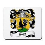Hahn Family Crest Mousepad