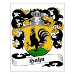 Hahn Family Crest Small Poster