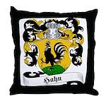 Hahn Family Crest Throw Pillow