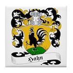 Hahn Family Crest Tile Coaster