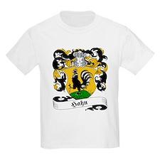 Hahn Family Crest Kids T-Shirt