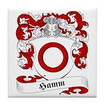 Hamm Family Crest Tile Coaster
