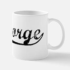 Vintage St George (Black) Mug