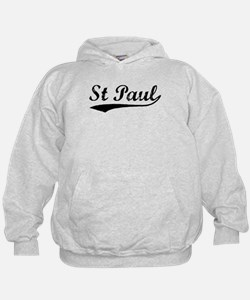 Vintage St Paul (Black) Hoody