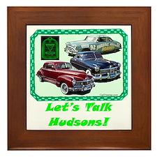 """""""Let's Talk Hudsons"""" Framed Tile"""