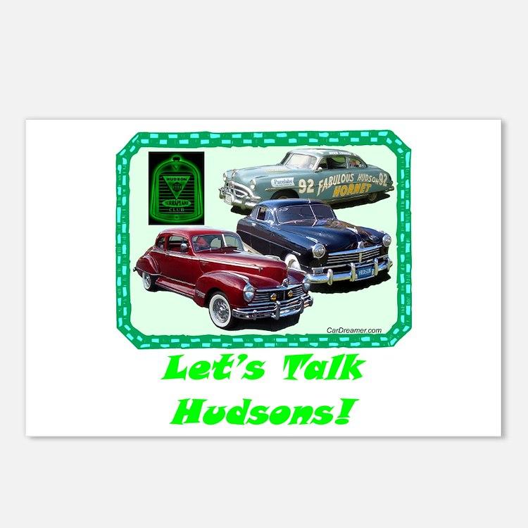 """""""Let's Talk Hudsons"""" Postcards (Package of 8)"""