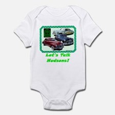 """Let's Talk Hudsons"" Infant Bodysuit"
