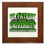 St. Patrick University School of Bartending Framed