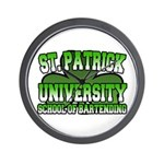 St. Patrick University School of Bartending Wall C