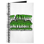 St. Patrick University School of Bartending Journa