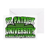 St. Patrick University School of Bartending Greeti