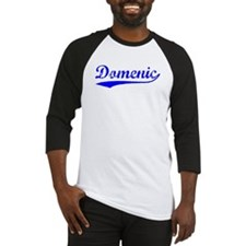 Vintage Domenic (Blue) Baseball Jersey