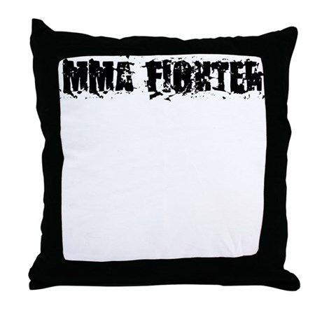 MMA Fighter Throw Pillow