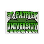 St. Patrick University Drinking Team Rectangle Mag