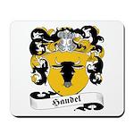Handel Family Crest Mousepad