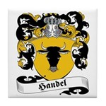 Handel Family Crest Tile Coaster