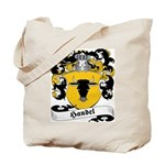 Handel Family Crest Tote Bag
