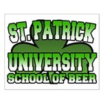St. Patrick University School of Beer Small Poster