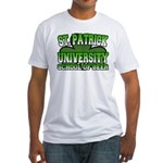 St. Patrick University School of Beer Fitted T-Shi