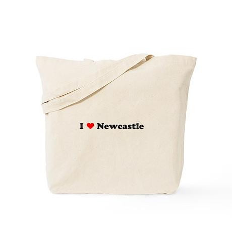 I love Newcastle Tote Bag