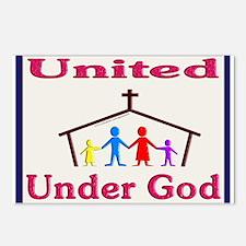 United Under God Postcards (Package of 8)