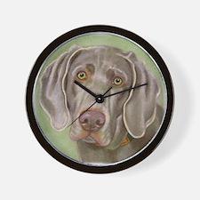 Weimeraner Wall Clock