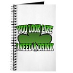 You Look Like I Need a Drink Journal