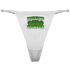 Designated Drinker Classic Thong