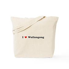 I love Wollongong Tote Bag