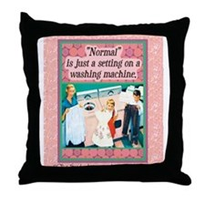 Throw Pillow - Normal is just a setting