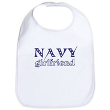 Navy girlfriend Bib