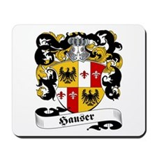 Hauser Family Crest Mousepad