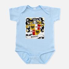 Hauser Family Crest Infant Creeper