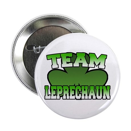 "Team Leprechaun 2.25"" Button"