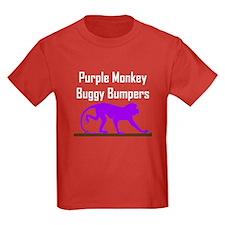 Purple Monkey Buggy Bumpers T
