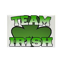 Team Irish Rectangle Magnet (10 pack)