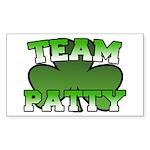 Team Patty Rectangle Sticker