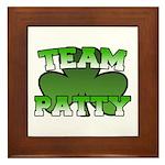 Team Patty Framed Tile