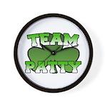 Team Patty Wall Clock