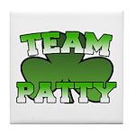 Team Patty Tile Coaster